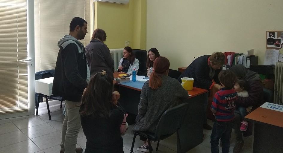 Εμβολιασμος παιδιων προσφυγων