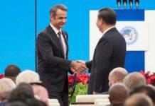 Μητσοτάκης με Κινέζο πρωθυπουργό