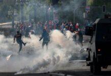 Χιλή αστυνομική βία
