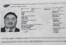 διαβατήριο Μαλαισιανού φυγόδικου