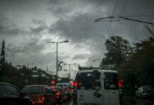 βροχή αυτοκίνητα