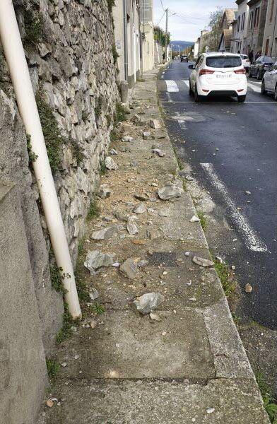 εικόνα από σεισμό στη Γαλλία