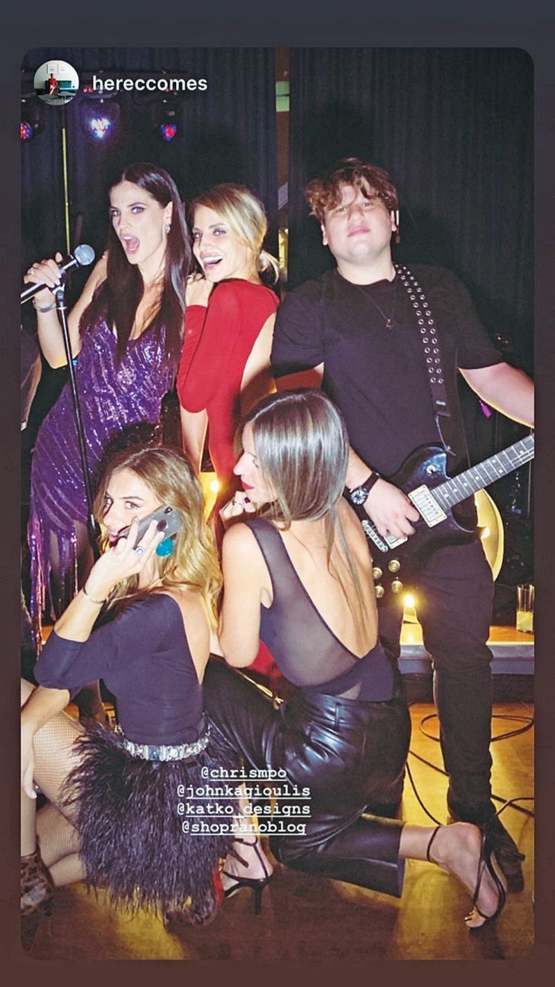Μαρίνα Βερνίκου και Μίλτος Καμπουρίδης γιόρτασαν μαζί τα γενέθλιά τους με karaoke party
