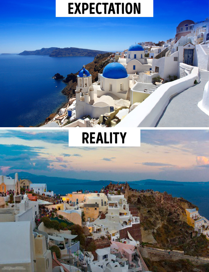 20+ Photos of Sights That Are Way Different From What Guidebooks Promised