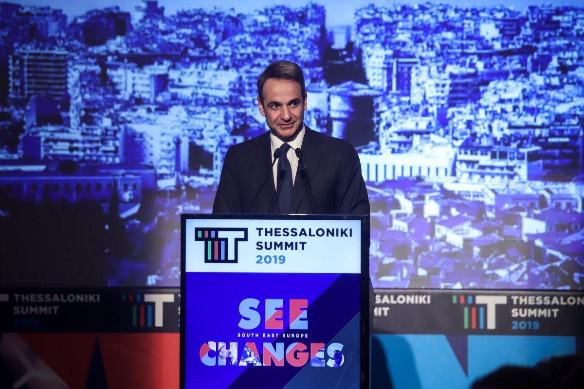 Μητσοτάκης: Χρέος μας να αμβλύνουμε τις αρνητικές συνέπειες της Συμφωνίας των Πρεσπών