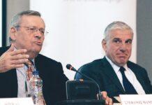 Ο Στέφανος Μάνος με τον Γιάννο Παπαντωνίου
