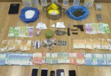 Κοκαϊνη, σύλληψη, λεφτά