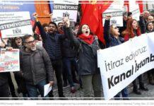 Διαμαρτυρίες για τη διώρυγα στην Κωνσταντινούπολη