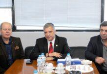Επίσκεψη του Περιφερειάρχη Αττικής στα γραφεία του ΕΔΣΝΑ