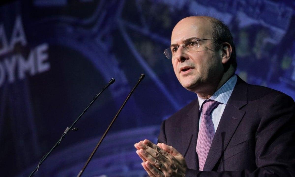 Κωστής Χατζηδάκης υπουργός Περιβάλλοντος και Ενέργειας