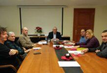 Συνάντηση Δημάρχου Αμαρουσίου Σύλλογος Πολυδρόσου
