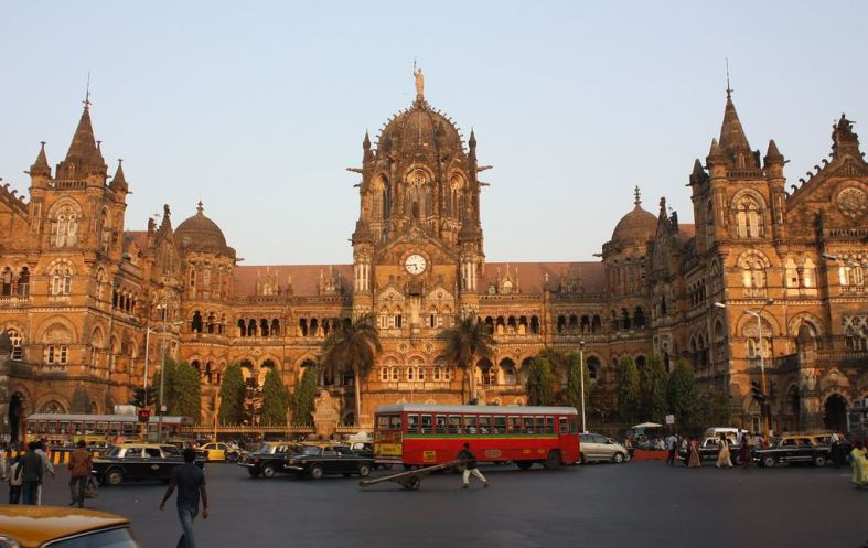 Chhatrapati Shivaji Terminus Βομβάη Ινδία