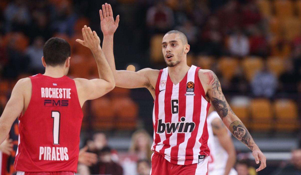 EuroLeague: Ολυμπιακός – Μπάγερν Μονάχου 89-72