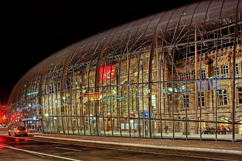 Gare de Strasbourg Στρασβούργο Γαλλία