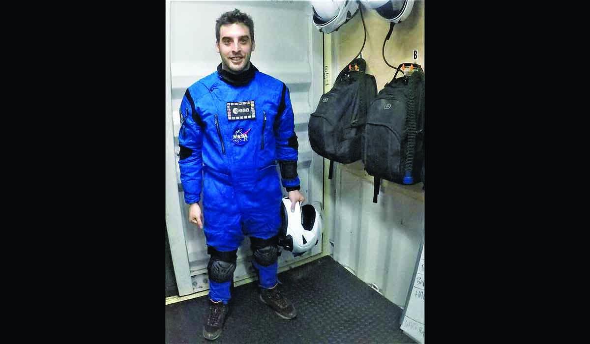 Έλληνας αστροναύτης Αύγουστος Πανταζίδης