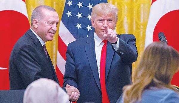 Ταγίπ Ερντογάν, Τραμπ