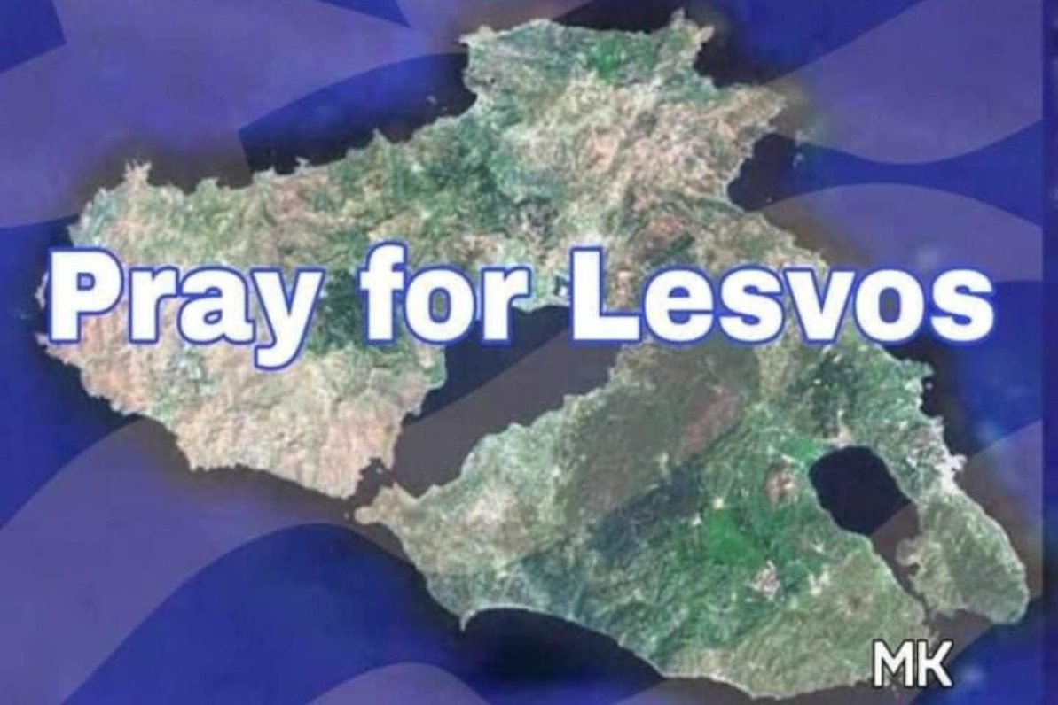 Pray for Lesvos