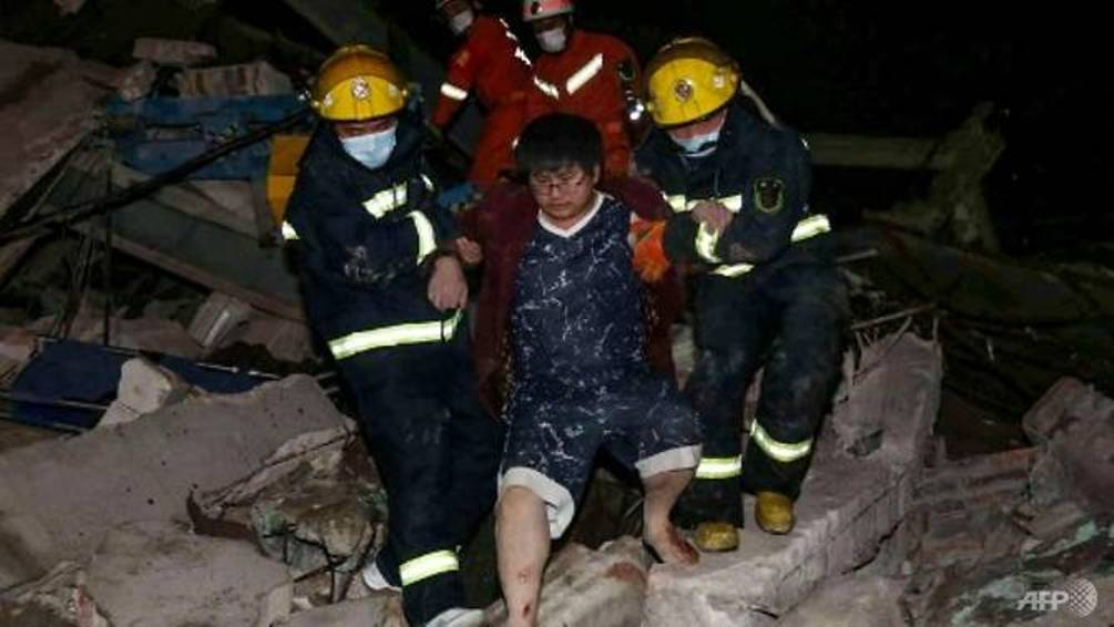 Κίνα ξενοδοχείο διάσωση