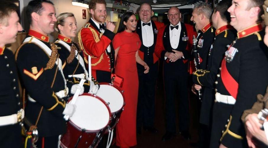 χαρι μεγκαν λονδινο royal albert hall