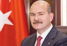τουρκος υπουργος εσωτερικων