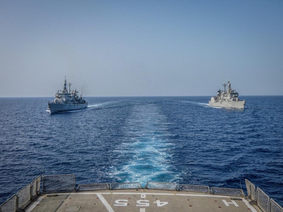 επιχειρησιακή εκπαίδευση μονάδων Πολεμικού Ναυτικού