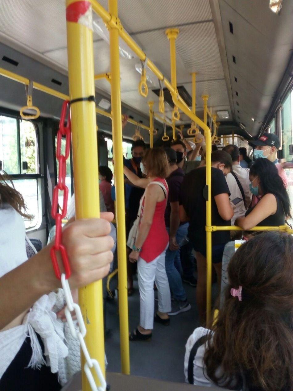 λεωφορειο συνωστισμος