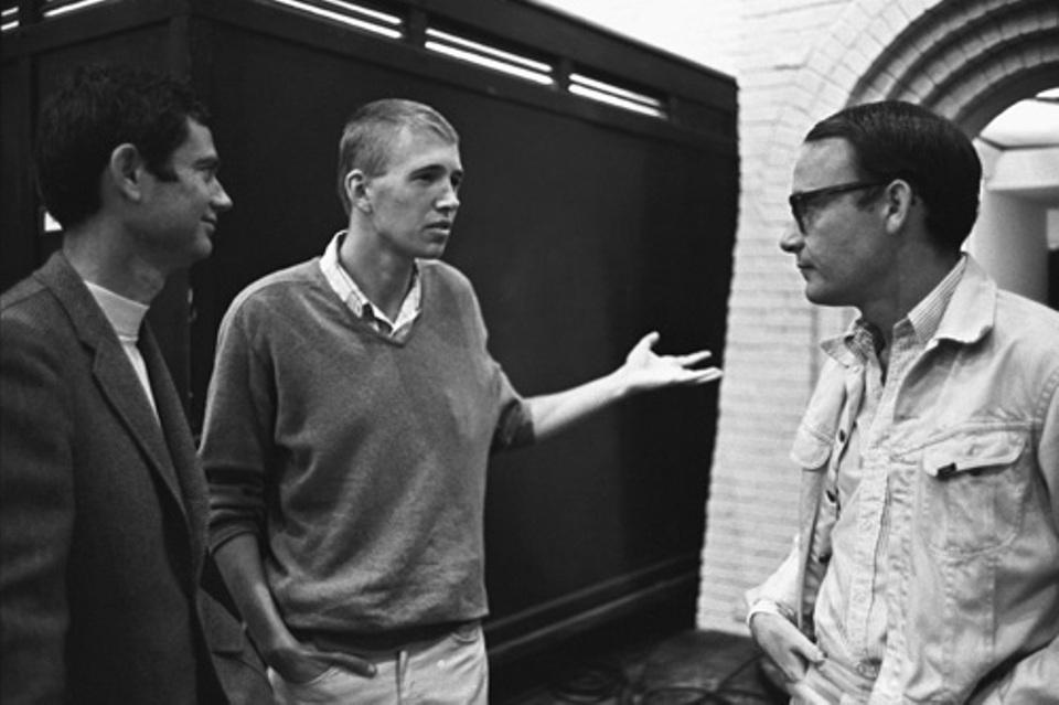 Buck Henry, screenwriter - Lawrence Turman, producer & Charles Webb, book writer The Graduate (1967)