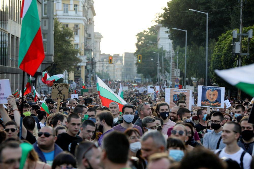 Βουλγαρία διαδηλώσεις