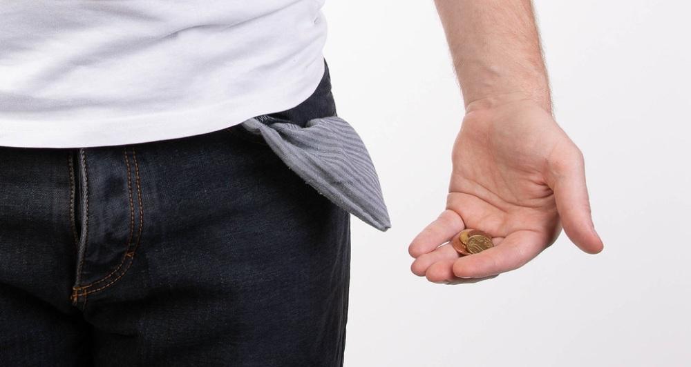 άδεια τσέπη