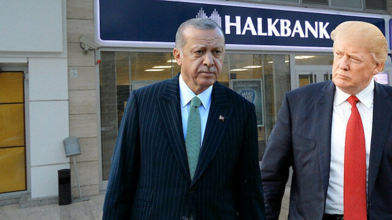 Halkbank Ερντογάν Τραμπ