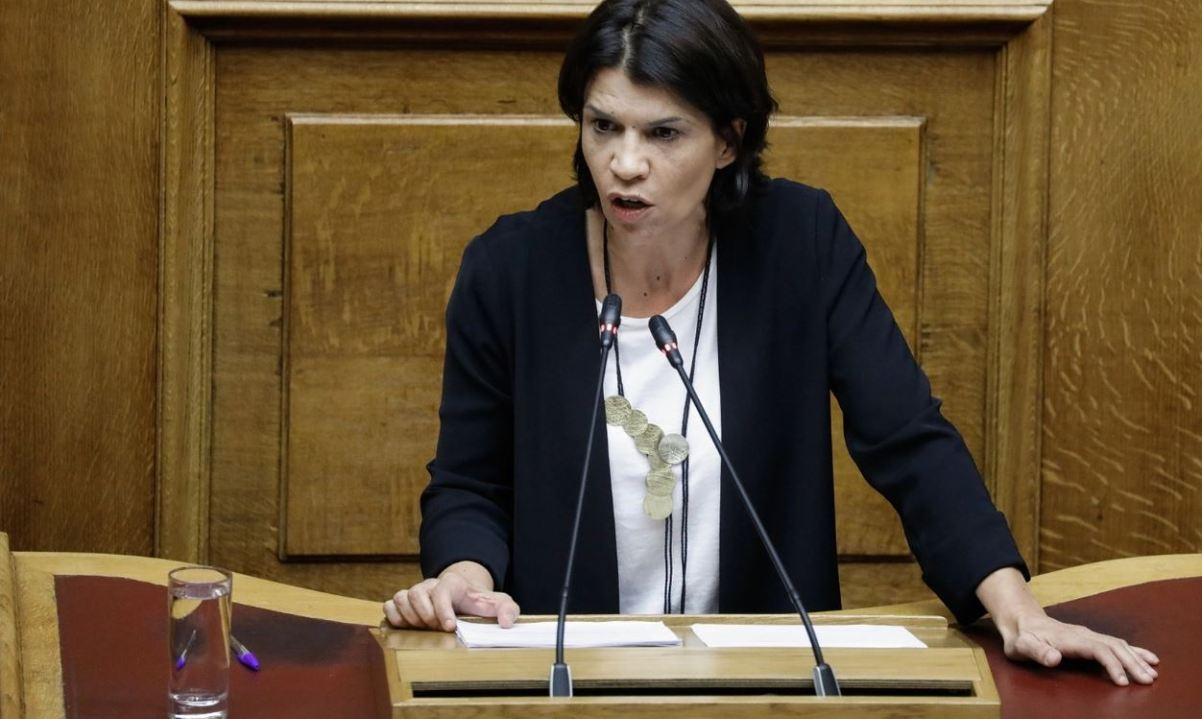 Γκάφα ολκής από τη βουλευτή του ΣΥΡΙΖΑ, Τάνια Ελευθεριάδου, για τον Αλ. Σβώλο