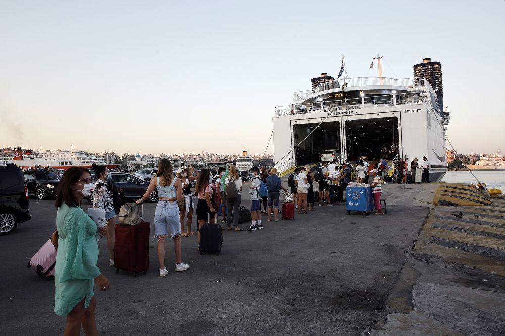 λιμάνι έξοδος