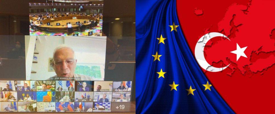 Πετώντας τις λέξεις «αλληλεγγύη, αποκλιμάκωση και διάλογος», η ΕΕ παρέπεμψε το θέμα της Τουρκίας για τις 27-28 Αυγούστου! Γιατί διαφώνησαν Ελλάδα-Γερμανία