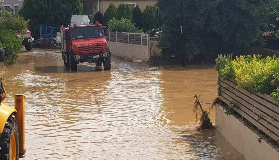 Εύβοια πλημμύρα