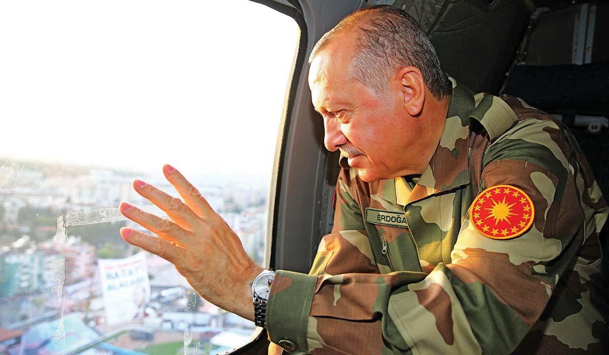 Ο Ερντογάν πραξικοπηματίας;