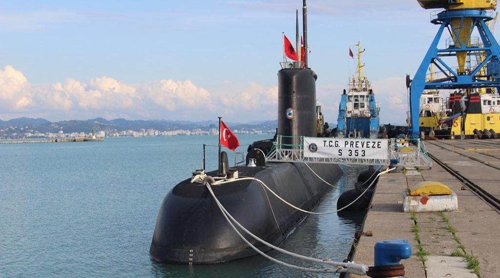 τουρκικό υποβρύχιο Αλβανία