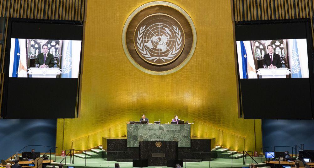 «Άστραψε και βρόντηξε» ο Νίκος Αναστασιάδης στον ΟΗΕ – Ρητή καταγγελία κατά της Τουρκίας