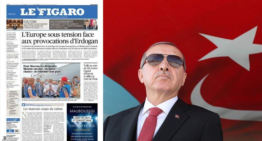 le figaro ερντογάν