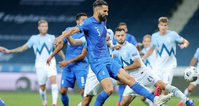 Σλοβενία-Ελλάδα 0-0