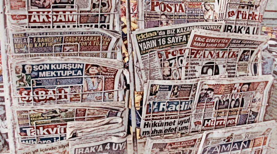 τουρκικές εφημερίδες