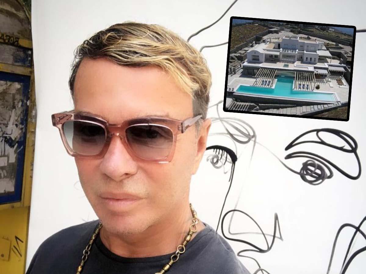 Ο Λάκης Γαβαλάς αποκλύπτει τι έγινε με τον πλειστηριασμό της βίλας του στη Μύκονο (video)