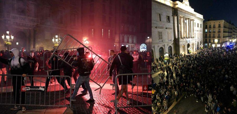Βαρκελώνη διαμαρτυρία