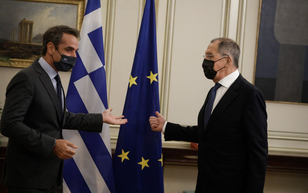 Η φαρμακερή ατάκα του Σεργκέι Λαβρόφ για τις ελληνορωσικές σχέσεις στη συνάντηση με τον Κ. Μητσοτάκη