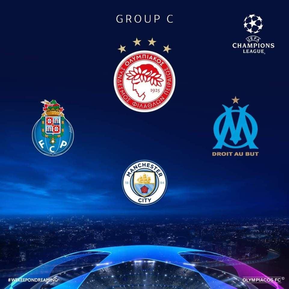 Μάντσεστερ Σίτι, Πόρτο και Μαρσέιγ οι αντίπαλοι του Ολυμπιακού στους  ομίλους του Champions League! | newsbreak