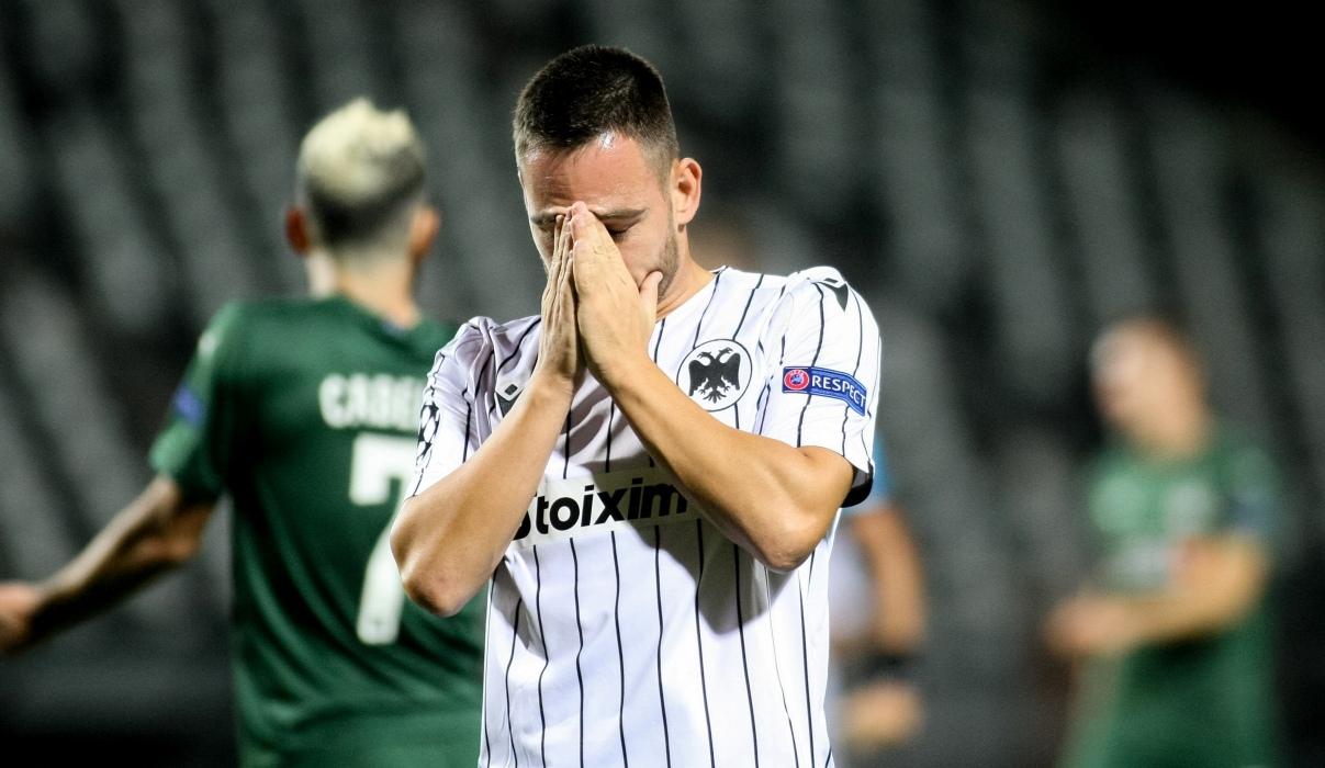 Οδυνηρός αποκλεισμός του ΠΑΟΚ: Ήττα με 2-1 από την Κρασνοντάρ μέσα στην Τούμπα (video)