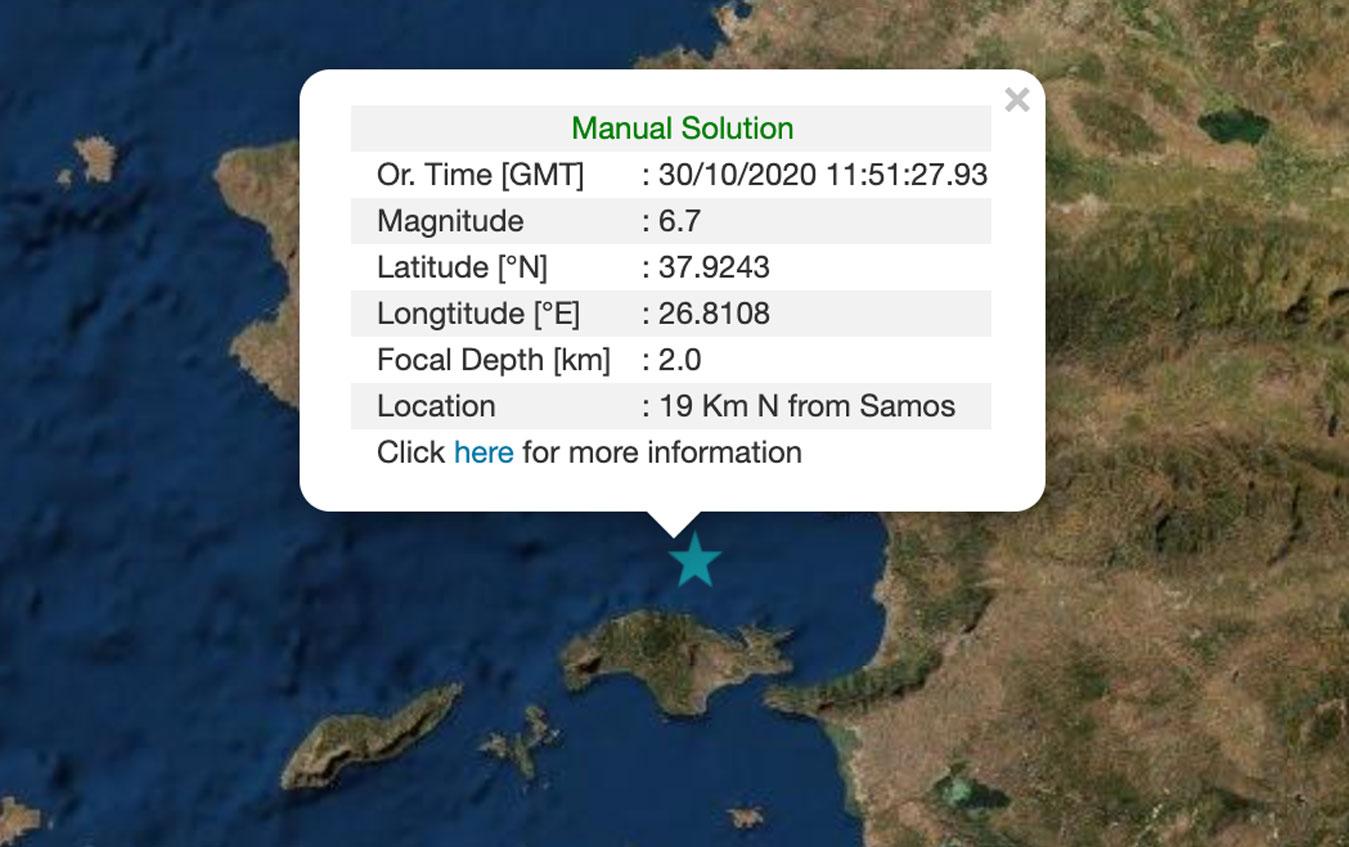 Σεισμός 6,7 Ρίχτερ στη Σάμο! Ταρακουνήθηκε μέχρι και η Αττική! Ένας τραυματίας και ζημιές σε κτίρια και δρόμους | newsbreak