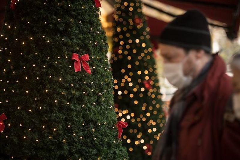 Βρετανία χριστουγεννιάτικο δέντρο