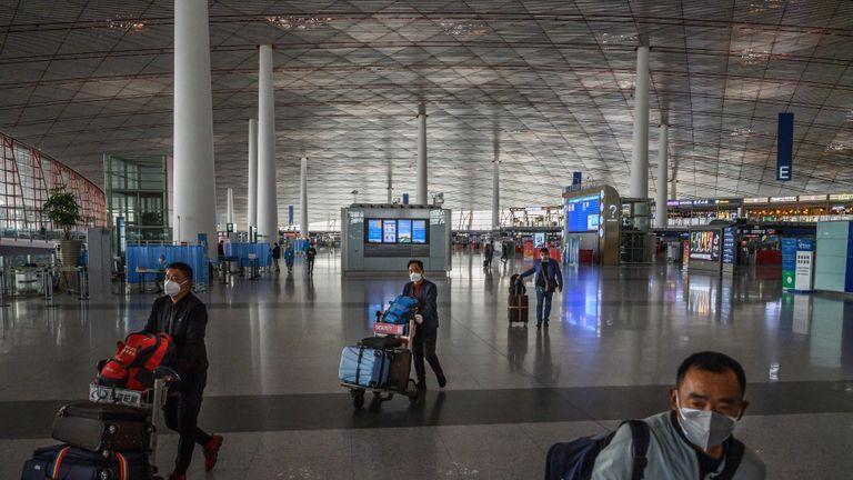 αεροδρόμιο Κίνα