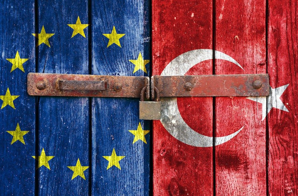 ΕΕ Τουρκία λουκέτο