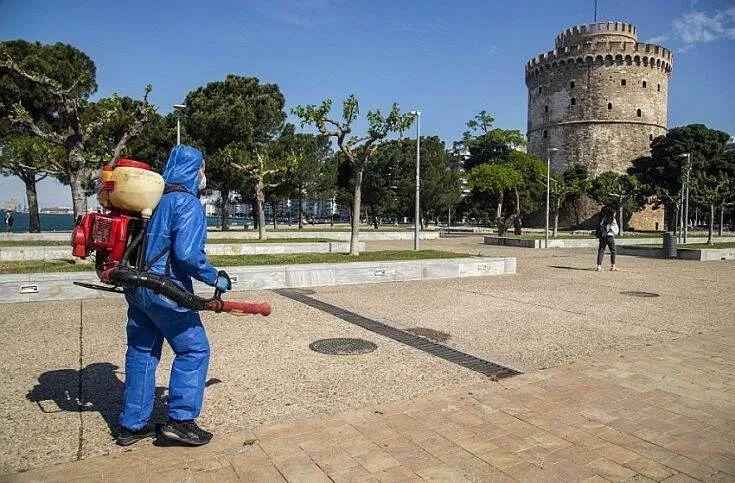 Θεσσαλονίκη απολύμανση